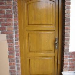 Renovace vstupních dveří Č. Budějovice